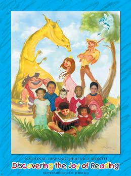 Item# HR Hispanic Heritage Month Discovering the Joy of Reading (GSA)