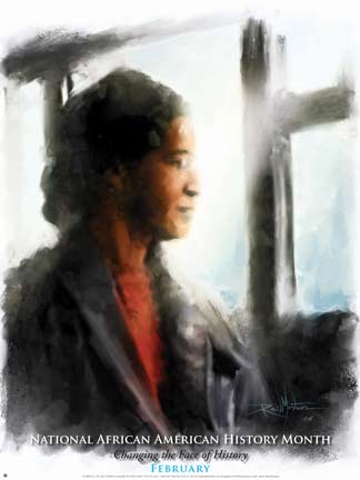 Item# B083 Black History Month Changing the Face of History Poster (GSA) Rosa Parks -  DiversityStore.Com®