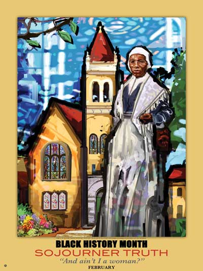 Item#  BST Black History Month Sojourner Truth .. (GSA) -  DiversityStore.Com®