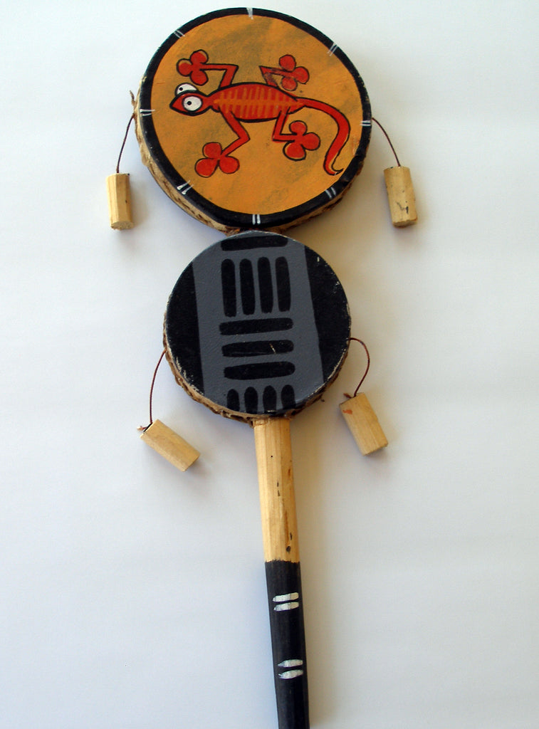 Item: SWDA African Double Spin Drum Lizard .. OM -  DiversityStore.Com®