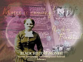 Item# BTK Bookmarks, Buttons & Magnets Black History Month  Harriet Tubman and the Underground Railroad ..OM -  DiversityStore.Com®