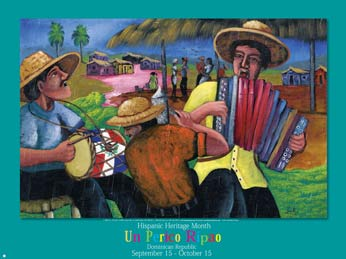 Hispanic Country Poster