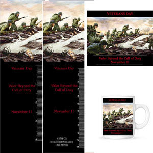 VET 15 Veterans Day Magnets & Bookmarks ...OM -  DiversityStore.Com®