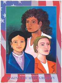 Women's Equality Day Making Equality a Reality Poster