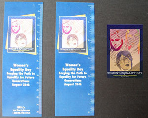 WED10 Bookmarks, Buttons and Magnets..OM -  DiversityStore.Com®