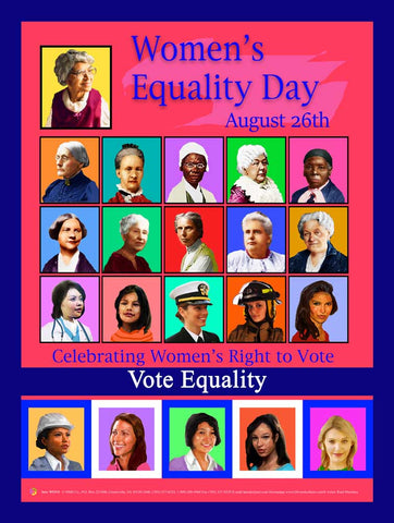 Women's Equality Day 2018 Item: WED1824x36 Custom Made
