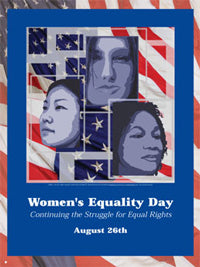 Item# WED2 Women's Equality Day Continuing the Struggle for Equal Rights .(GSA) -  DiversityStore.Com®