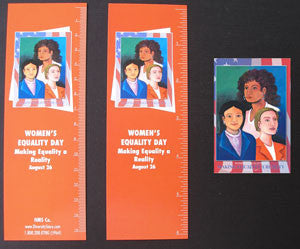 WED7 Bookmarks, Buttons and Magnets..OM -  DiversityStore.Com®