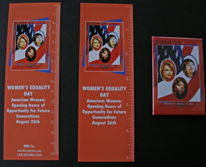WED8 Bookmarks, Buttons and Magnets..OM -  DiversityStore.Com®