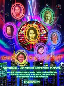 2013 National Women's History Month Women Inspiring Innovation Through Imagination: