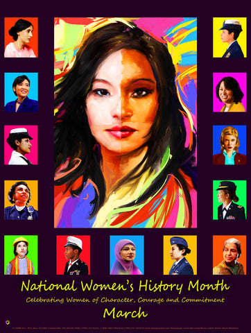 Item# WH14 National Women's History Month Celebrating ...(GSA)