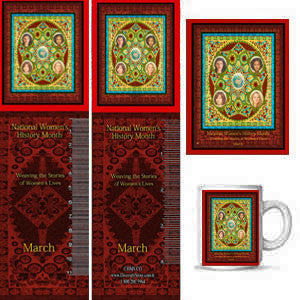 Item# WH15K Magnets, Mugs, Bookmarks & Buttons..OM -  DiversityStore.Com®
