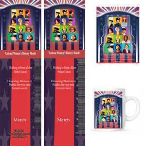 Item# WH16K Magnets, Mugs, Bookmarks & Buttons..OM -  DiversityStore.Com®
