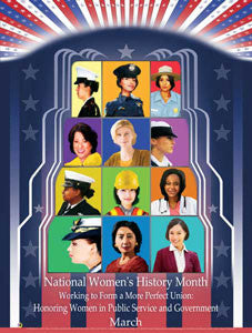 2016 - National Women's History Month Working to :