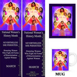 Item# WH18K Magnets, Mugs, Bookmarks & Buttons..OM -  DiversityStore.Com®