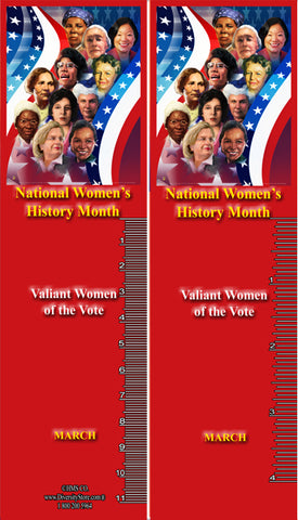 Item# WH20K36 Bookmarks Set of 36  National Women's History Month 2020 ..OM