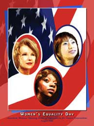 Women's Equality Day American Women: Opening Doors Poster