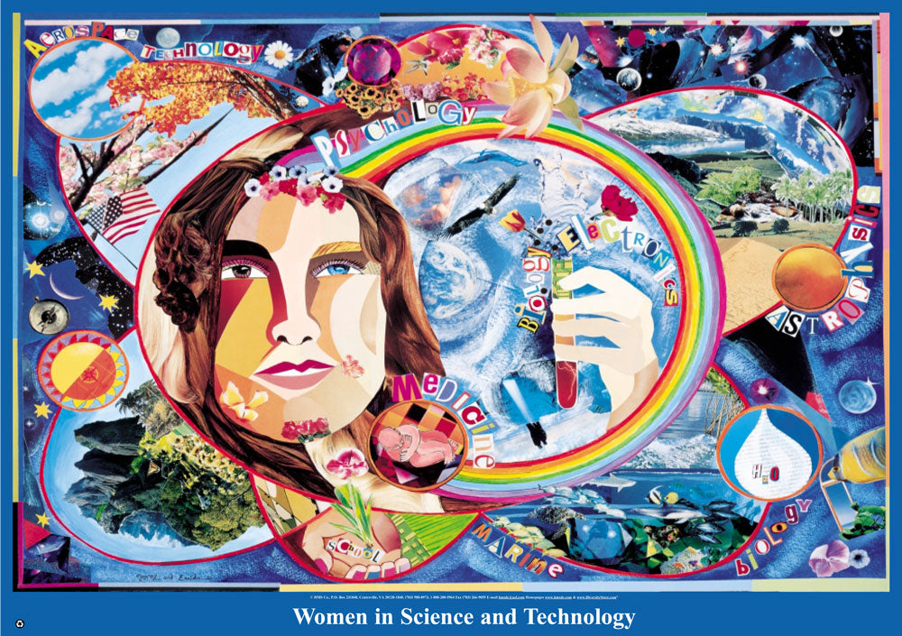Item# WHX Women in Science and Technology Poster.(GSA) -  DiversityStore.Com®