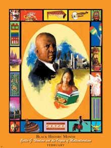 Item# B08K Black History Month Carter G Woodson and The Origins of Multiculturalism ..OM -  DiversityStore.Com®