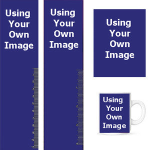 Using Your Own Image! Buttons, Bookmarks, Magnets, Key Chains & Mugs