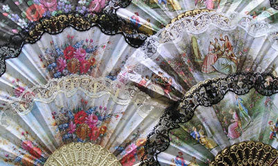 Spanish Fan Assorted Colors & Styles .. OM