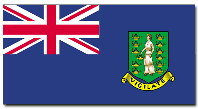 Item# British Virgin Islands Flags..OM