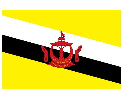 Item# BRUNEI Brunei Flags..OM