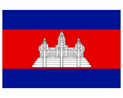 Item# CAMBODIA Cambodia Flags..OM