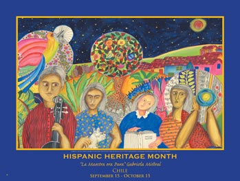 Item# HCH Hispanic Heritage Month Chile Poster (GSA)