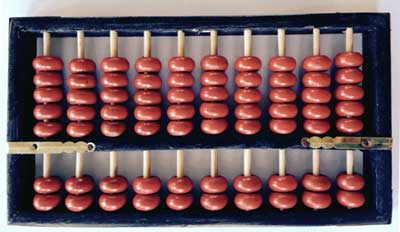 Item# ABA Chinese Abacus .. OM