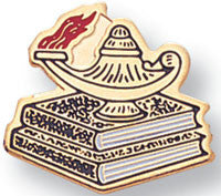 Lamp of Learning Pin/Ena