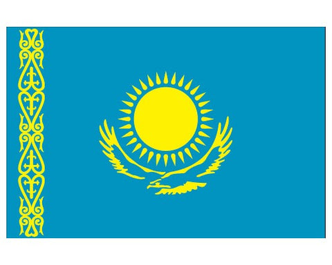 Kazakhstan Flags..OM
