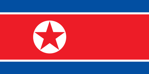 North Korea Flags ..OM