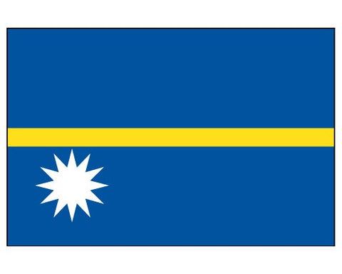Nauru Flags..OM