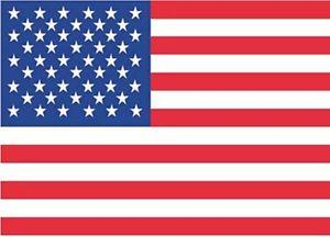 United States String Flag Banner ..OM