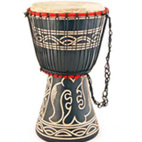 Item# SW5B  African Large Drum Ghanaian Djembe Assorted Colors Price $49.95 -  DiversityStore.Com®