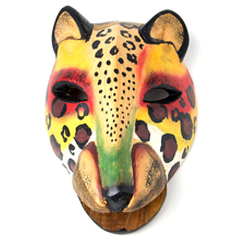 Item# SWBA5 African Cheetah Mask - Kenya Size: 7x5 inches $24.95  (OM) -  DiversityStore.Com®