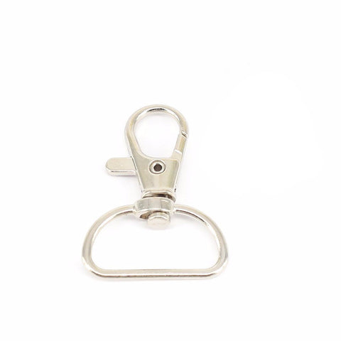 "D-ring 1"" lobster swivel clasp hook - MAE Inspirations"