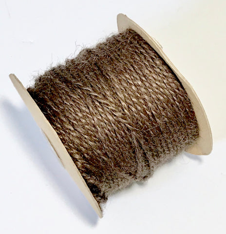 Brown jute 2 ply twine - MAE Inspirations