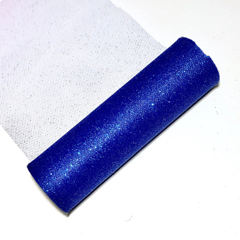 "Royal blue 6"" GLITTER tulle fabric / 1-10 yards - MAE Inspirations"