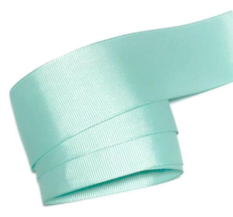 "Aqua blue 1.5"" grosgrain ribbon - MAE Inspirations"