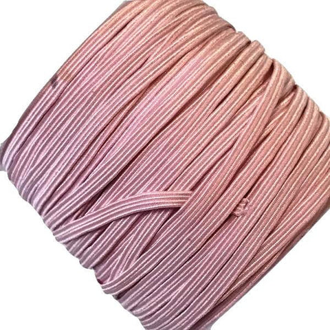 "Light pink 1/8"" thin skinny elastic - MAE Inspirations"