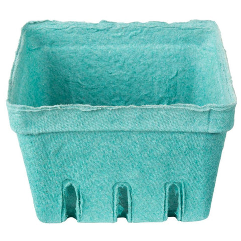 Green 1 quart berry basket