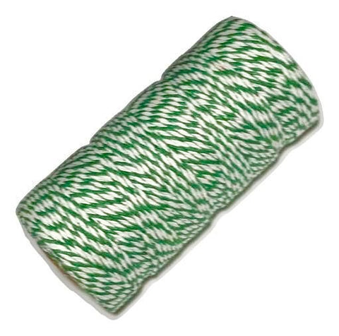 Emerald green 12 ply bakers twine - MAE Inspirations