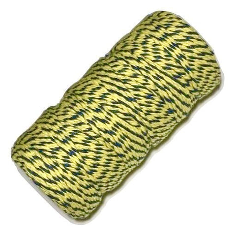 Yellow & navy blue 12 ply bakers twine - MAE Inspirations