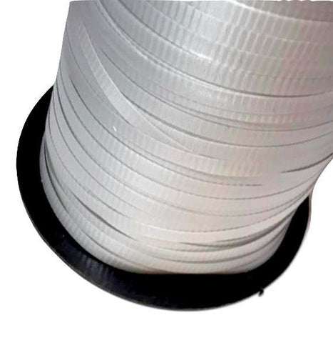 "Silver 3/16"" curling ribbon"