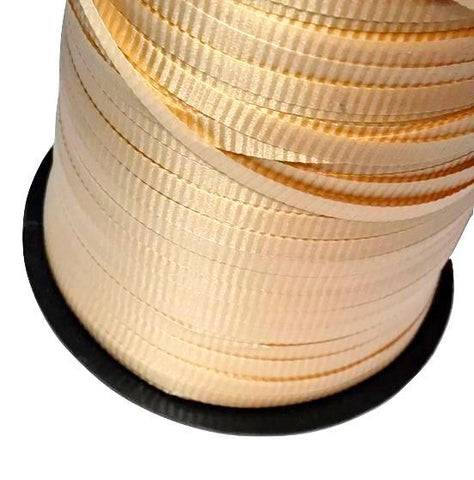 "Pale gold 3/16"" curling ribbon"
