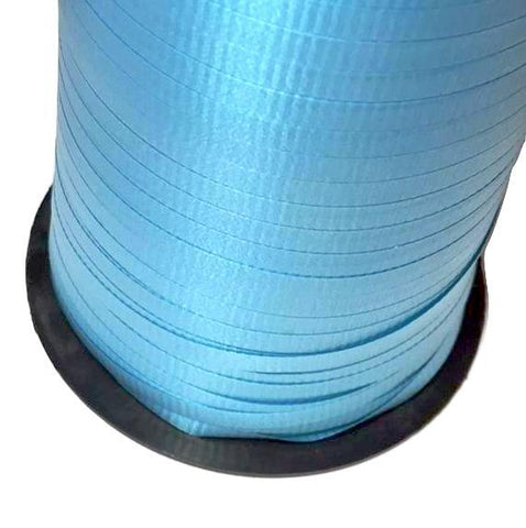 "Turquoise blue 3/16"" curling ribbon"