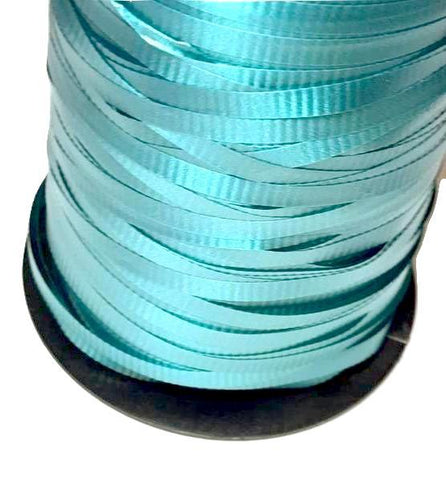 "Teal green 3/16"" curling ribbon"