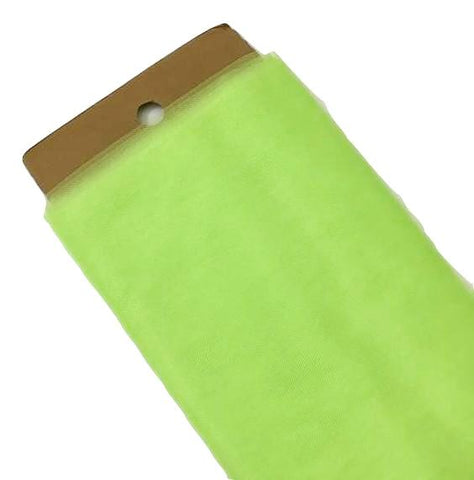 "Lime green 54"" tulle fabric / 1-5 yards"